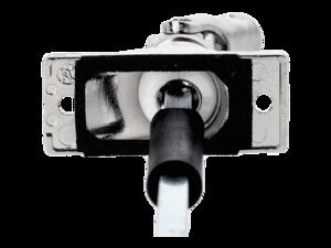 WAREMA Gelenklager mit thermische Trennung, 35 - 54 Grad, mit Zapfen d12,9 mm, 6 mm Vierkant, 300 mm