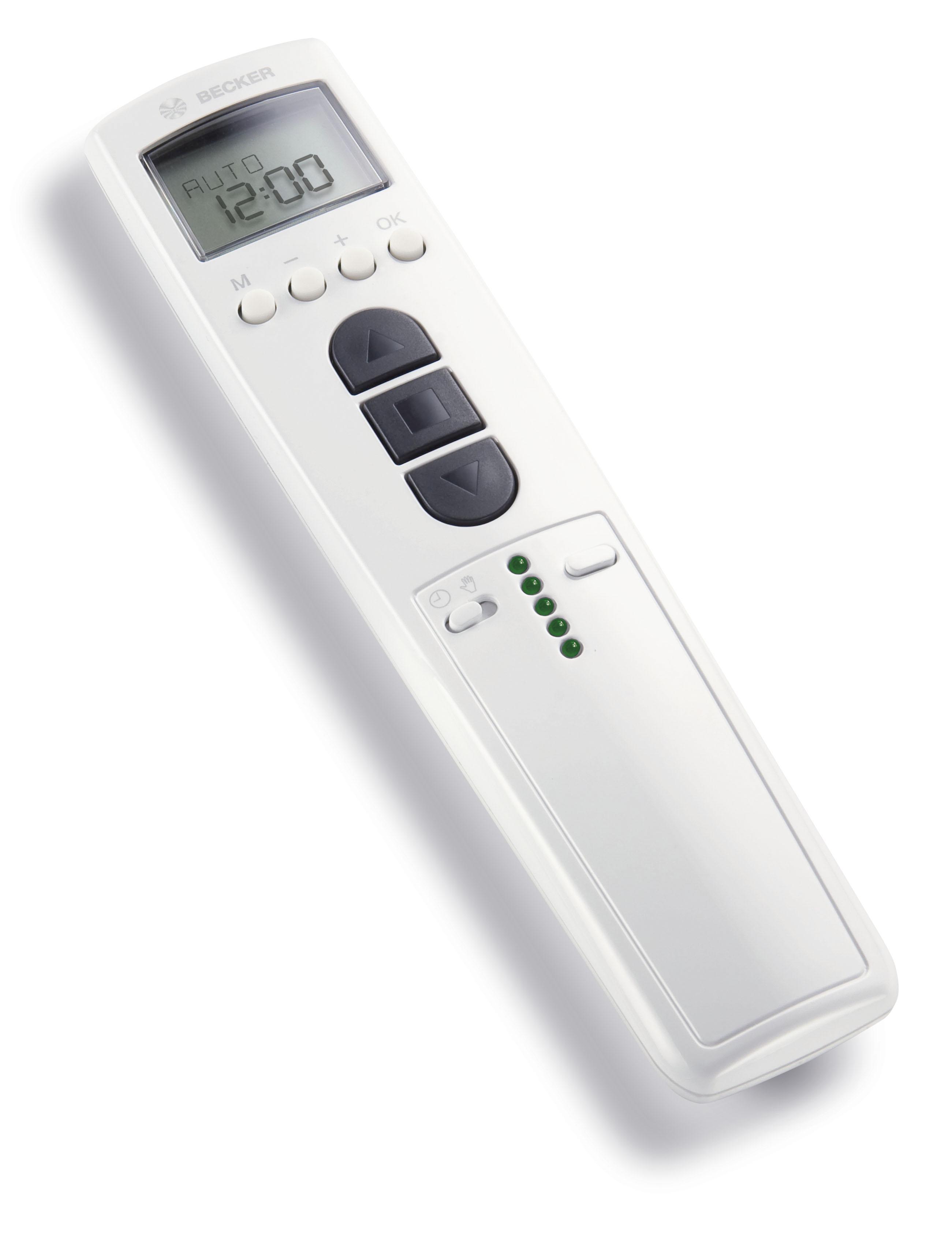 Becker •   Handsender TimeControl TC445-II weiß