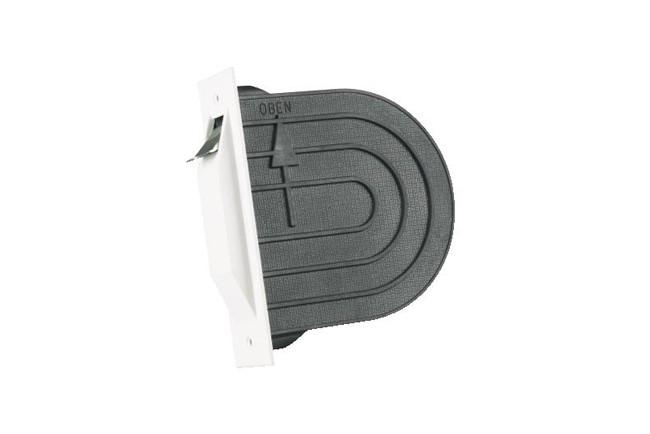 WAREMA Gurtwickler Unterputz, mini, 14 mm, ohne Gurt