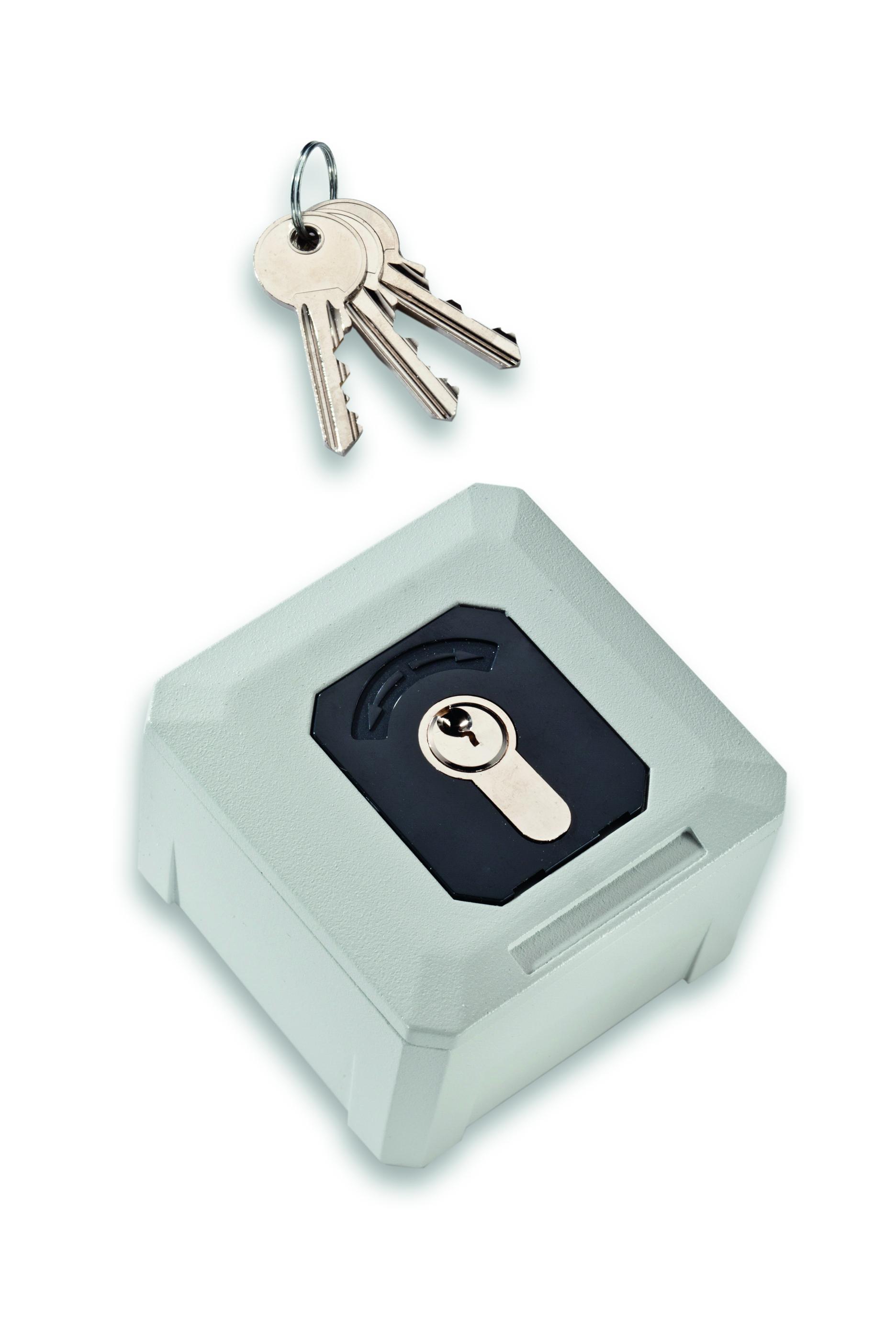 Becker • Universal Schlüsselschalter / Taster, gleichs.