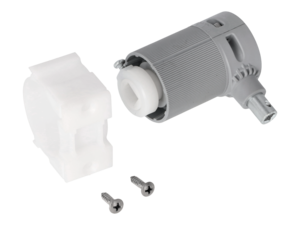 WAREMA Beipack Getriebe 2:1 mit Zapfen rechts, mit 6 mm Vierkant