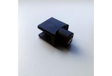 WAREMA Endverschluss schwarz, mit Schraube, vormontiert für Raffstore