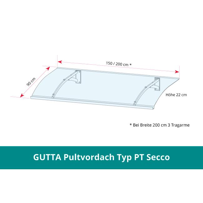 GUTTA Pultvordach PT Secco