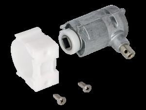 WAREMA Beipack Getriebe 3:1 mit Zapfen rechts, Sechskant