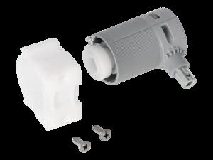 WAREMA Beipack Getriebe 2:1 mit Zapfen rechts, Sechskant 6mm