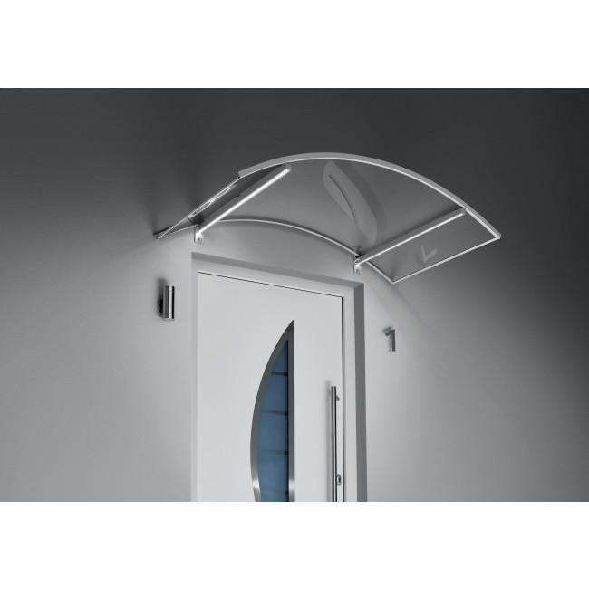 GUTTA Bogenvordach mit LED-Technik