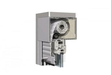 WAREMA Aufsetz-Rollladen FR 59 für Neubau / Fenster-Renovierung