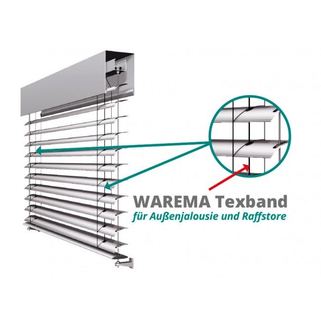 WAREMA Aufzugsband (6 x 0,27 mm, lfm) / Textilband / Texband / Tex-Band Original