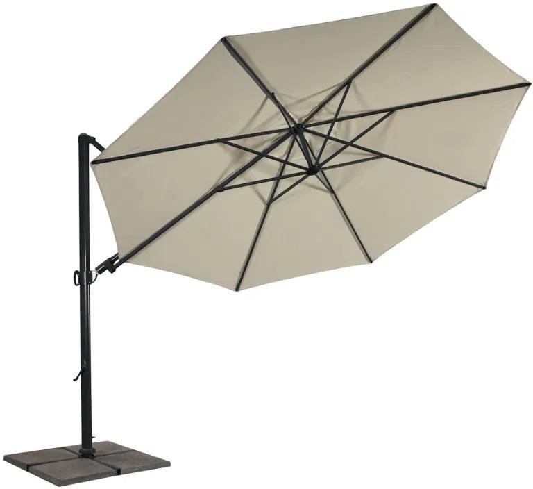 CARAVITA • Sonnenschirm Comfia Free, 3,0 x 3,0 m